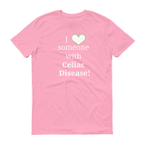 I Love Someone with Celiac Disease Unisex Shirt - Choose Color - Sunshine and Spoons Shop