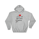 I Love Someone with Ehlers Danlos Syndrome EDS Hoodie Sweatshirt - Choose Color - Sunshine and Spoons Shop