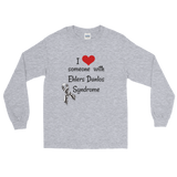 I Love Someone with Ehlers Danlos Syndrome EDS Unisex Long Sleeved Shirt - Choose Color - Sunshine and Spoons Shop