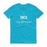I Rock My NG Tube Feeding Tube Unisex Shirt - Choose Color - Sunshine and Spoons Shop