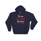 I am an ECMO Survivor Hoodie Sweatshirt - Choose Color - Sunshine and Spoons Shop