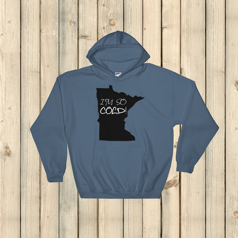 I'm So Cold Minnesota Hoodie Sweatshirt - Choose Color - Sunshine and Spoons Shop