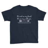 It's Not In My Head, It's In My Collagen Ehlers Danlos EDS Kids' Shirt - Choose Color