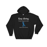Keep Staring. Maybe It'll Grow Back. Alopecia Awareness Hoodie Sweatshirt - Choose Color - Sunshine and Spoons Shop