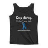 Keep Staring. Maybe It'll Grow Back. Alopecia Awareness Women's Tank Top - Choose Color - Sunshine and Spoons Shop