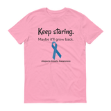 Keep Staring. Maybe It'll Grow Back. Alopecia Awareness Unisex Shirt - Choose Color - Sunshine and Spoons Shop