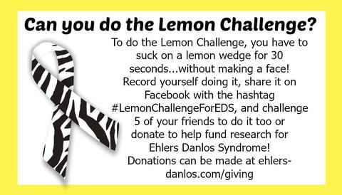 Lemon Challenge for EDS Cards