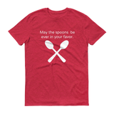 May the Spoons Be Ever in Your Favor Spoonie Unisex Shirt - Choose Color - Sunshine and Spoons Shop