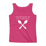 May the Spoons Be Ever in Your Favor Spoonie Women's Tank Top - Choose Color