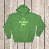 I'm Gluten Free Celiac Disease Awareness Hoodie Sweatshirt - Choose Color - Sunshine and Spoons Shop