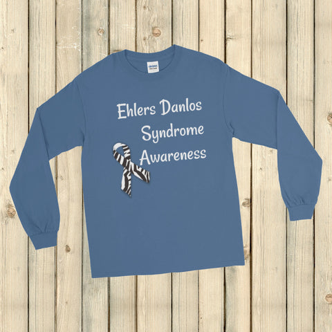 Ehlers Danlos Syndrome EDS Awareness Unisex Long Sleeved Shirt - Choose Color