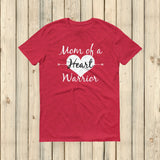 Mom of a Heart Warrior CHD Heart Defect Unisex Shirt - Choose Color - Sunshine and Spoons Shop