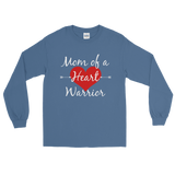 Mom of a Heart Warrior CHD Heart Defect Unisex Long Sleeved Shirt - Choose Color - Sunshine and Spoons Shop