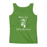 Mom of a Zebra Warrior Rare Disease Ehlers Danlos EDS Women's Tank Top - Choose Color - Sunshine and Spoons Shop