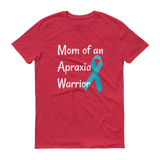 Mom of an Apraxia Warrior Unisex Shirt - Choose Color - Sunshine and Spoons Shop