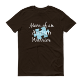 Mom of an Autism Warrior Awareness Puzzle Piece Unisex Shirt - Choose Color - Sunshine and Spoons Shop