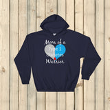 Mom of a Type 1 Diabetes Warrior T1D Hoodie Sweatshirt - Choose Color