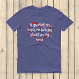 If You Think My Hands Are Full, You Should See My Heart Unisex Shirt - Choose Color