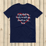 If You Think My Hands Are Full, You Should See My Heart Unisex Shirt - Choose Color - Sunshine and Spoons Shop