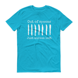 Out of Spoons. Just Knives Left Spoonie Unisex Shirt - Choose Color - Sunshine and Spoons Shop