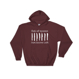 Out of Spoons. Just Knives Left Spoonie Hoodie Sweatshirt - Choose Color