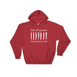 Out of Spoons. Just Knives Left Spoonie Hoodie Sweatshirt - Choose Color - Sunshine and Spoons Shop