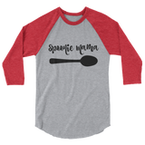 Spoonie Mama 3/4 Sleeve Unisex Raglan - Choose Color - Sunshine and Spoons Shop
