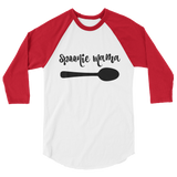Spoonie Mama 3/4 Sleeve Unisex Raglan - Choose Color