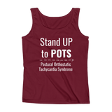 Stand Up to POTS Dysautonomia Awareness Women's Tank Top - Choose Color