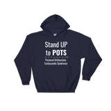 Stand Up to POTS Dysautonomia Awareness Hoodie Sweatshirt - Choose Color