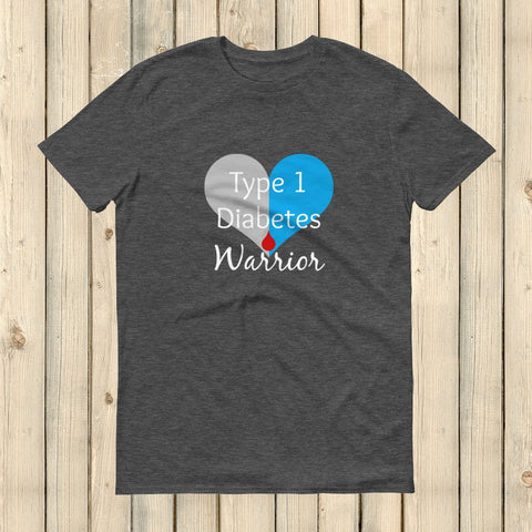 I am a Type 1 Diabetes Warrior T1D Unisex Shirt - Choose Color - Sunshine and Spoons Shop