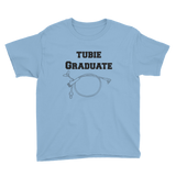 Tubie Graduate G Tube Feeding Tube Kids' Shirt - Choose Color