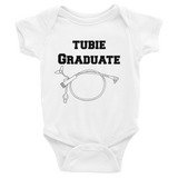 Tubie Graduate G Tube Feeding Tube Onesie Bodysuit - Choose Color - Sunshine and Spoons Shop