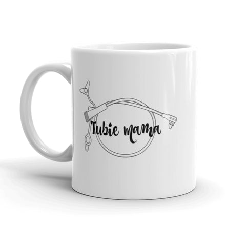 Tubie Mama Supertubie Feeding Tube Mom Coffee Tea Mug - Choose Size - Sunshine and Spoons Shop