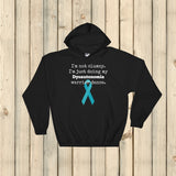 I'm Not Clumsy. This is My Dysautonomia Warrior Dance POTS Hoodie Sweatshirt - Choose Color - Sunshine and Spoons Shop