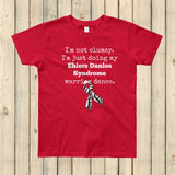 I'm Not Clumsy. This is My EDS Warrior Dance Ehlers Danlos Kids' Shirt - Choose Color - Sunshine and Spoons Shop