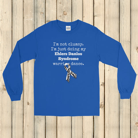 I'm Not Clumsy. This is My EDS Warrior Dance Ehlers Danlos Unisex Long Sleeved Shirt - Choose Color - Sunshine and Spoons Shop