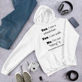 Yes, I Use a Wheelchair And I Can Walk Disability Awareness Hoodie Sweatshirt - Choose Color - Sunshine and Spoons Shop