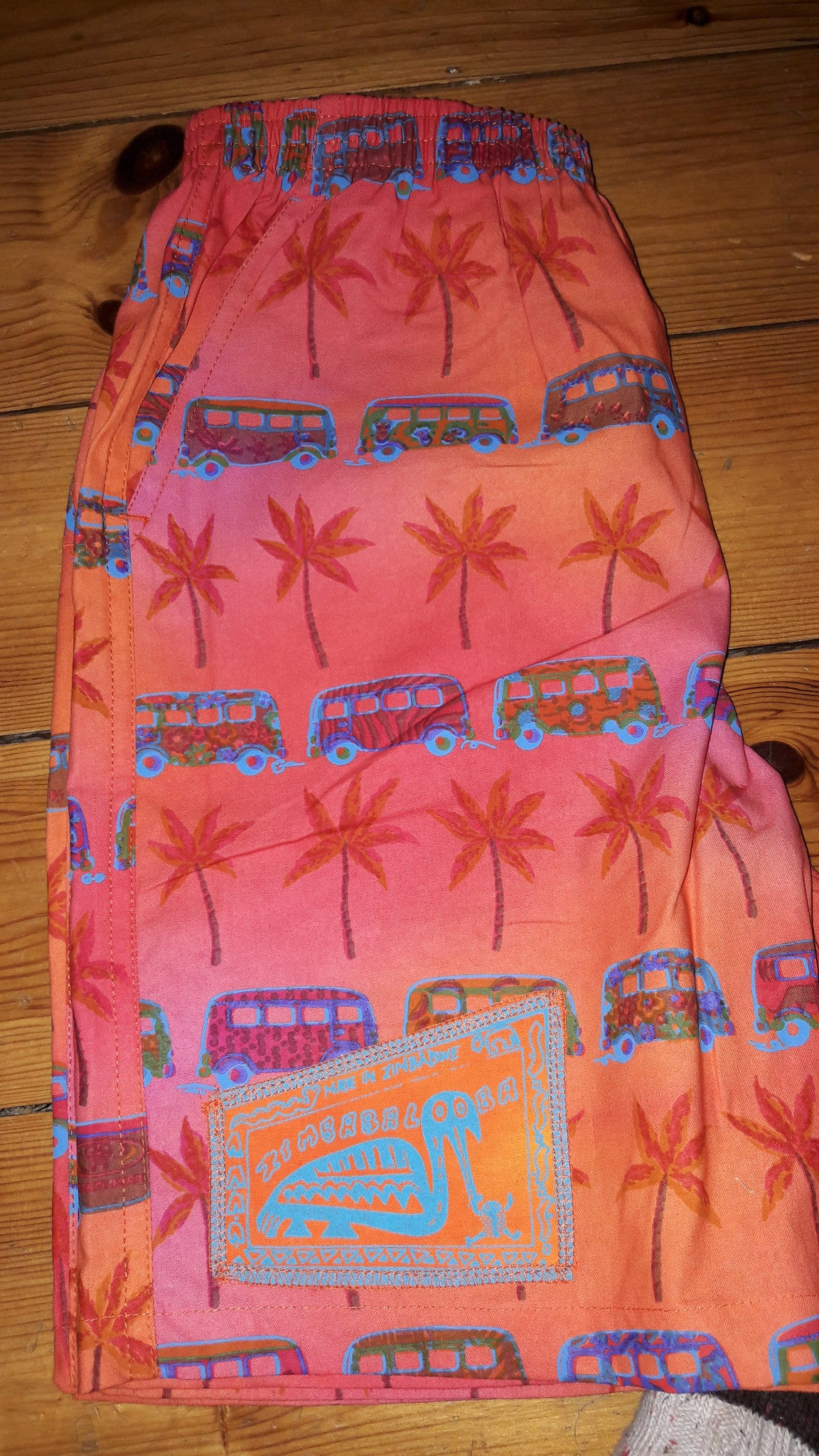 Kid's Shorts - VW Kombi print - 100% Cotton Baggies