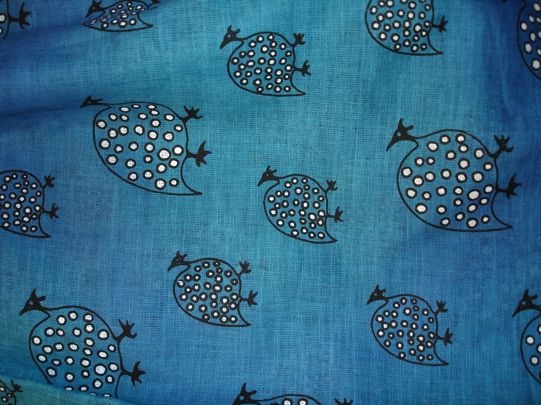 Kid's T-Shirt - Ethnic Guinea Fowl Design