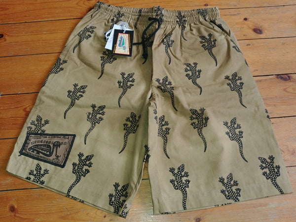 Adult Baggies / Shorts - Gecko Print