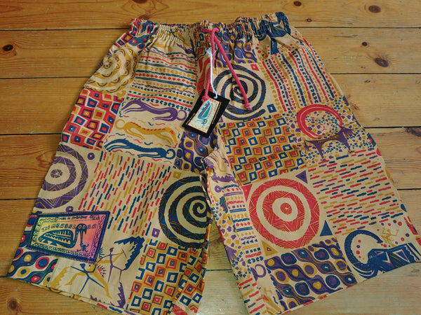 Adult Baggies / Shorts - Patchwork