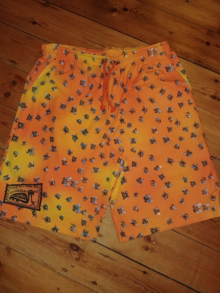 Adult Baggies / Shorts - Busy Bee Design