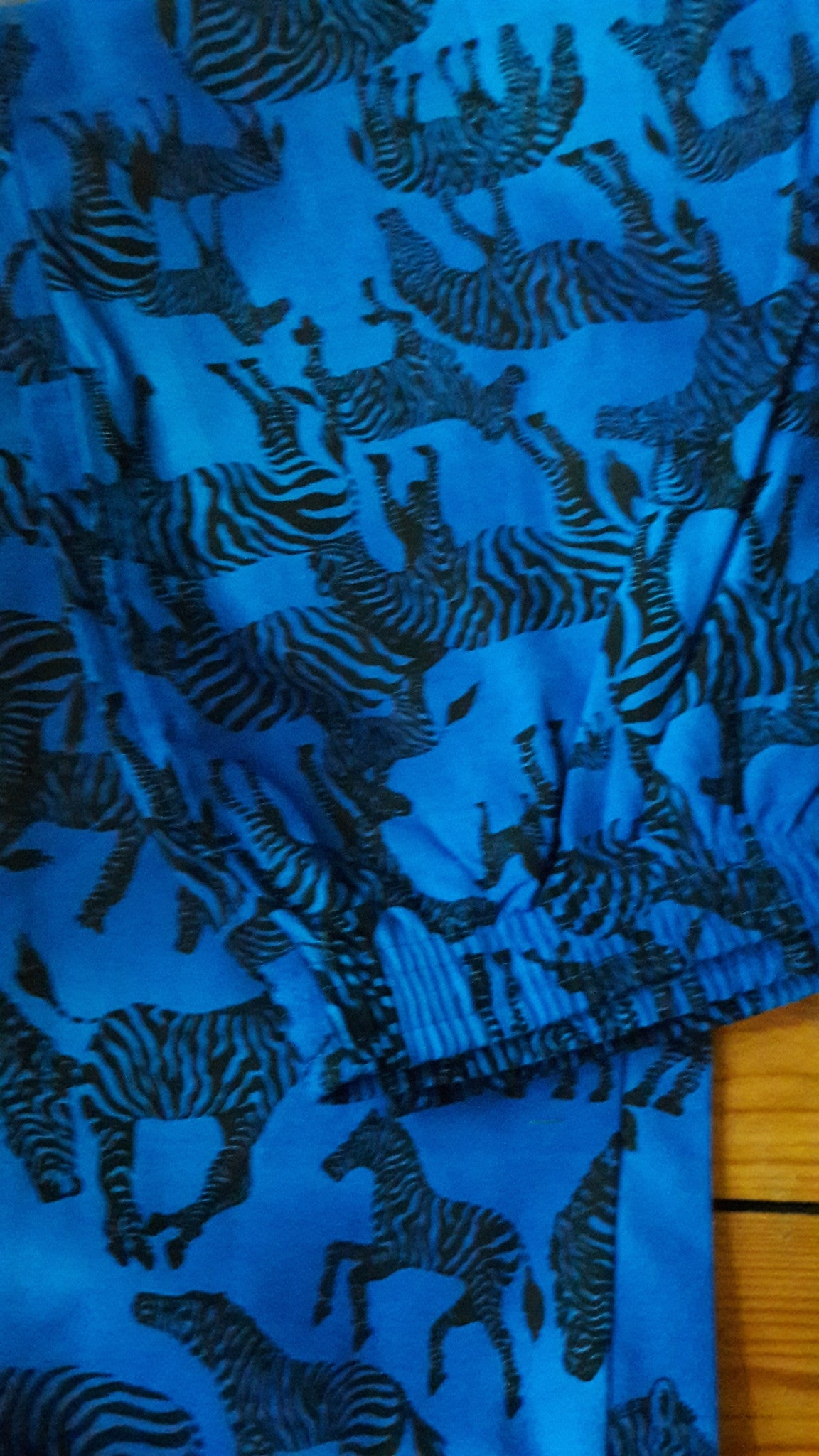 Verts - Zebras Print - 100% Cotton Trousers