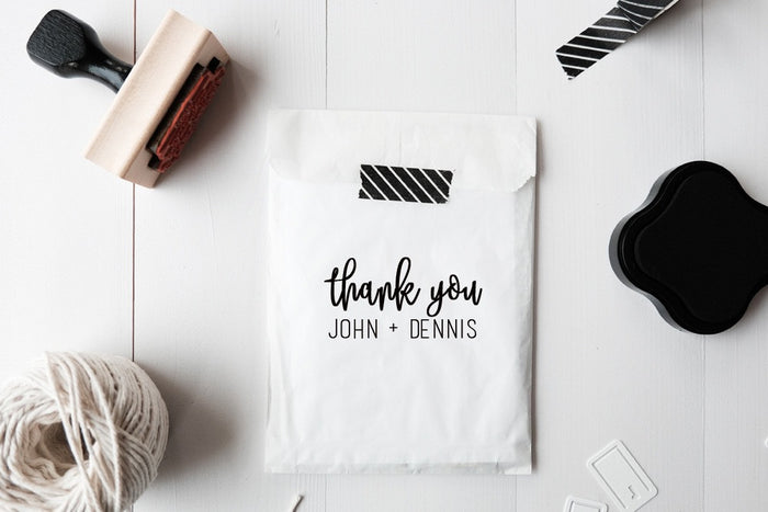 Custom Thank you Stamp