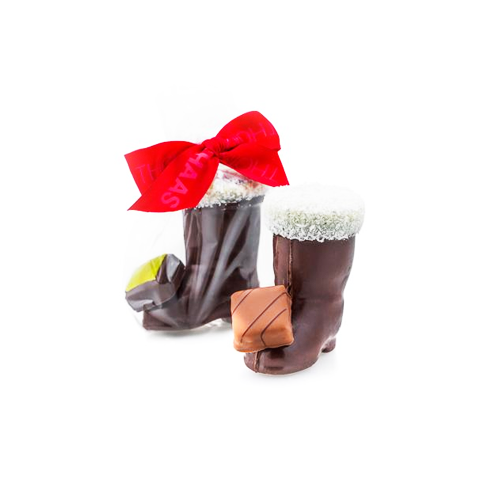 Thomas Haas Stuffed Santa Boot