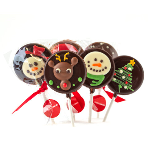 Thomas Haas Chocolate Lollipops
