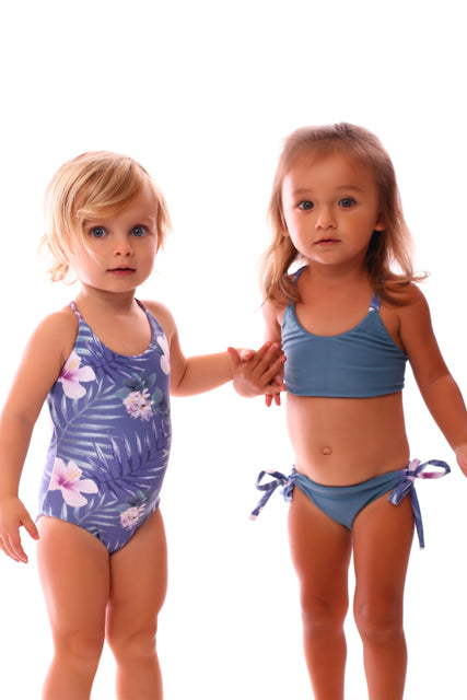 Make A Mini Kini: Flamingo Designer Fabric