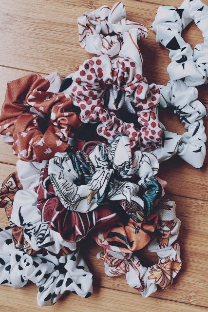 Choose the Print for your 3rd Scrunchie: