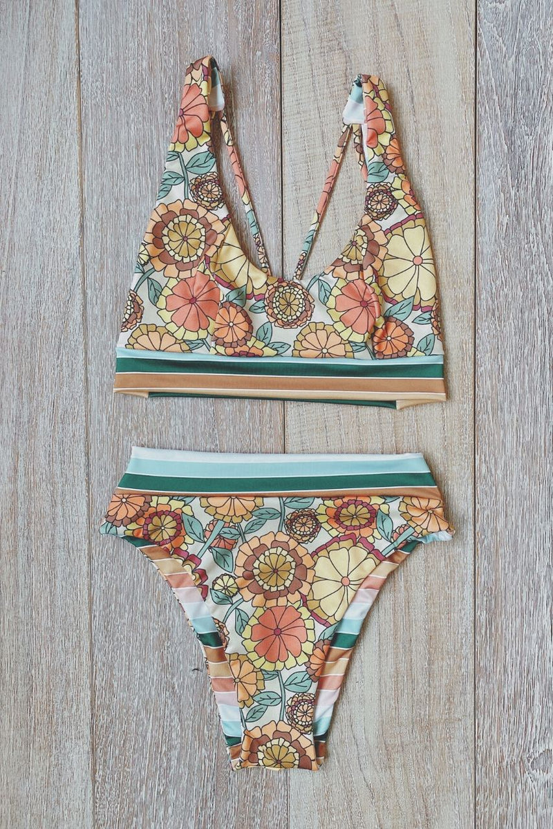 Build Your Own: Flower Power Designer Swimsuit